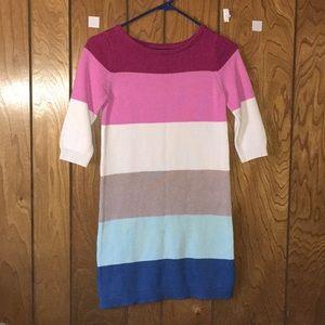 Gap Kids Multi color Fall Dress